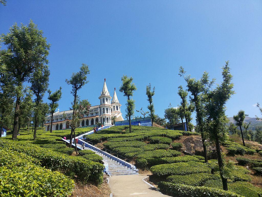 Basilica in Velankanni