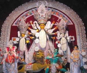 Bagbazar Durga Puja Pandal