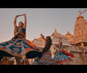 Navratri dance rehearsal