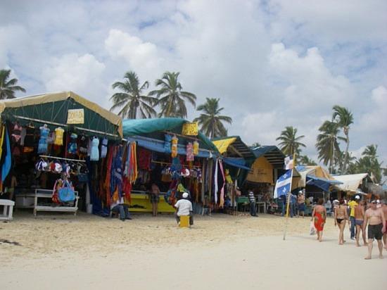 Beachside promenades