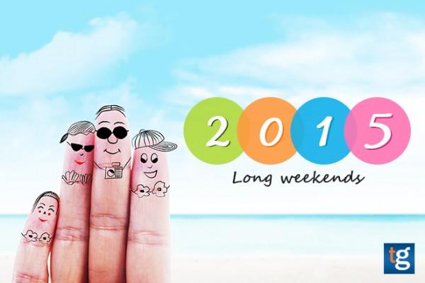 2015 Long Weekend Travel Calendar (Part 2)